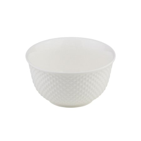 Bowl de Porcelana Branco Dots 12,5x6,5cm 8387