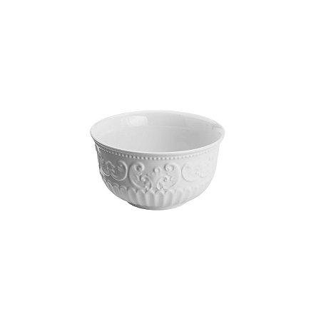 Bowl de Porcelana New Bone Branco Angel 12,5x6,5cm 8375