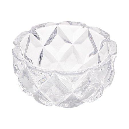 Bowl de Cristal Deli Diamond Pequeno 11,5x5,5cm 1235