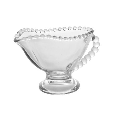 Molheira Cristal Pearl Bolinhas Transparente  140ml 28387