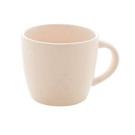 Jogo 4 Canecas para Café sem Pires Granilite Marfim 115ml 28572