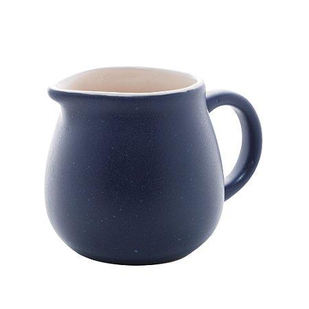Cremeira Leiteira em Cerâmica Granilite Azul 310ml 28592