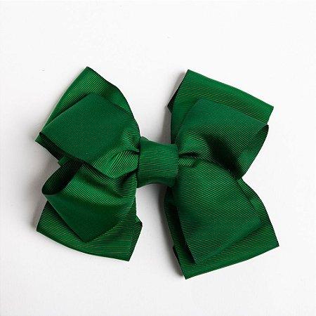 Laço Duplo Abacaxi Verde Bandeira De Fita De Gorgurão