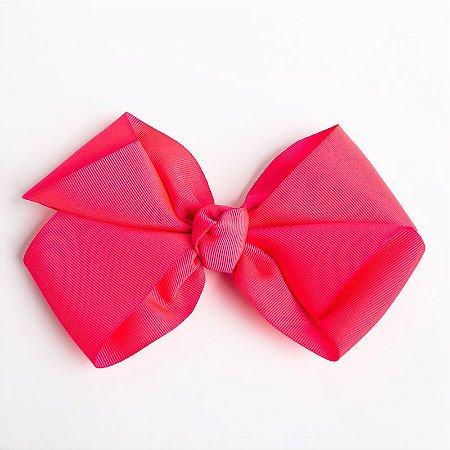 Laço Hortência Pink Fita De Gorgurão