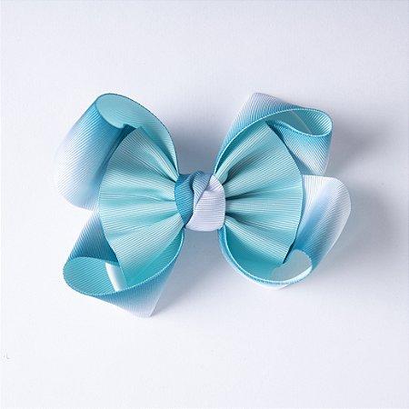 Laço Arco íris Degrade Azul Jade