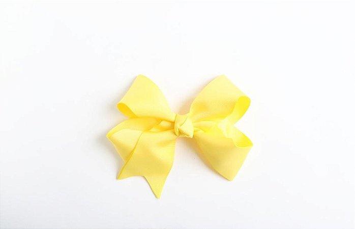 Laço Boutique Fun Liso Amarelo Canário