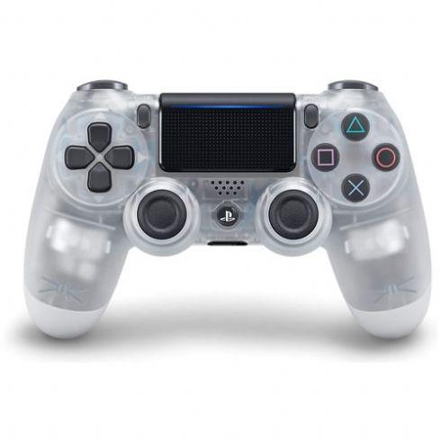 Controle DualShock 4 Sem fio para PS4 Branco Crystal - Sony