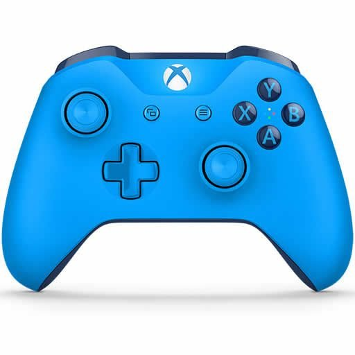 Controle Sem Fio Xbox One Azul - Microsoft
