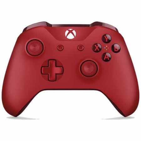 Controle Sem Fio Xbox One Vermelho - Microsoft