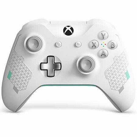 Controle Sem Fio Xbox One Sport Branco - Microsoft