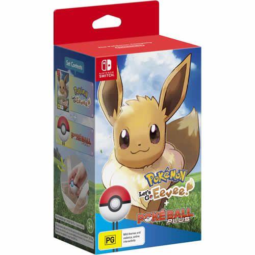 Game Pokémon Let's Go Eevee Bundle ! - Switch