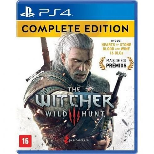 Game The Witcher 3 Wild Hunt Complete Edition - PS4