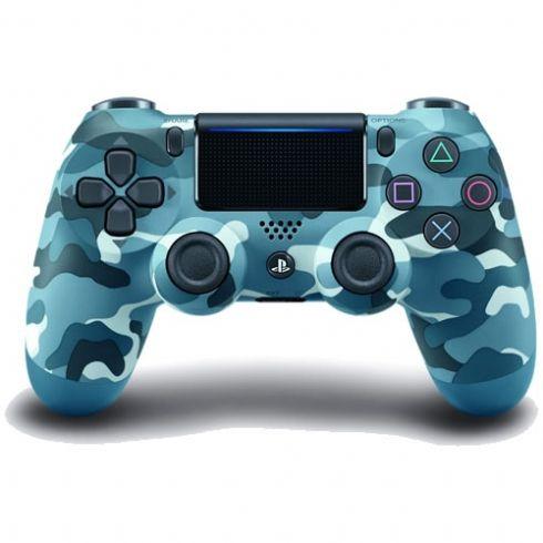 Controle DualShock 4 Sem fio para PS4 - Azul Camuflado
