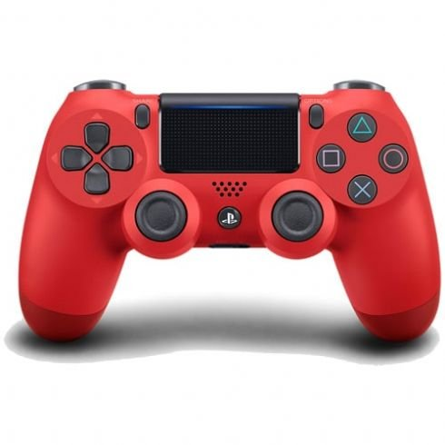 Controle DualShock 4 Sem fio para PS4 - Vermelho
