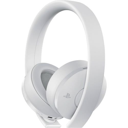 New Gold Wilress Headset 7.1 Virtual Surround Branco - Sony