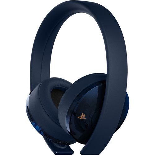 New Gold Wilress Headset 7.1 Virtual Surround 500 Million Limited Edition - Sony