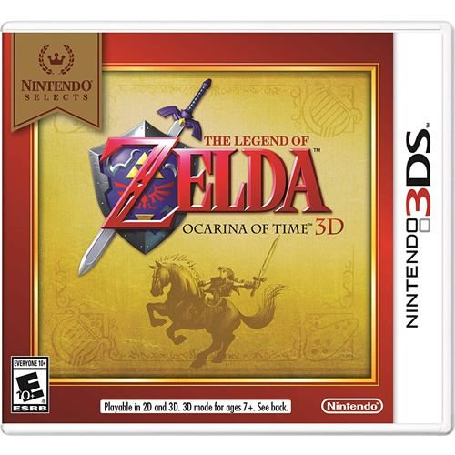 Game The Legend of Zelda Ocarina of Time 3D - 3DS