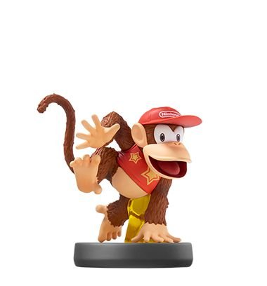 Amiibo Diddy Kong Super Smash Bros Series [usado]