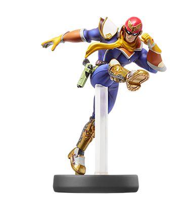 Amiibo Captain Falcon Super Smash Bros Series - Nintendo [usado]
