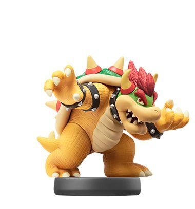 Amiibo Bowser Super Smash Bros Series - Nintendo [usado]
