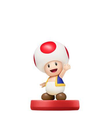 Amiibo Toad Super Mario Bros Series - Nintendo [usado]