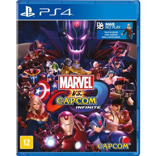 Game Marvel vs Capcom Infinite - PS4