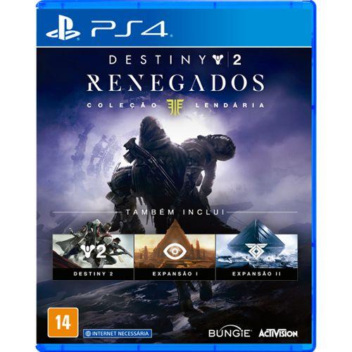 Game Destiny Renegados Coleção Lendária - PS4