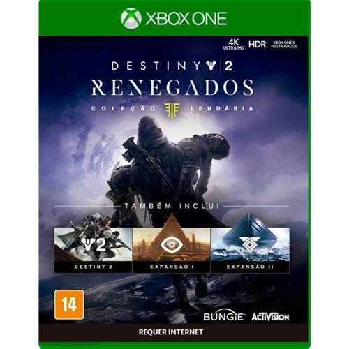 Game Destiny Renegados Coleção Lendária - Xbox One