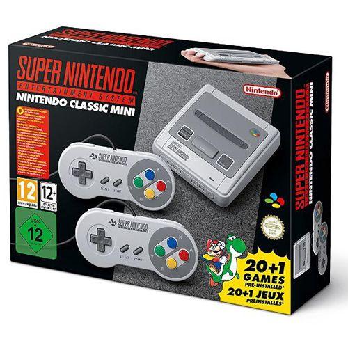 Console Super Nintendo Classic Mini - Nintendo