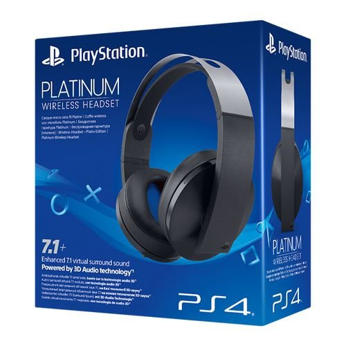 Headset 7.1 Virtual Surround Platinum Sem Fio - Sony