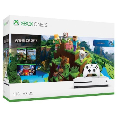 Console Xbox One S 1TB Minecraft Bundle - Microsoft