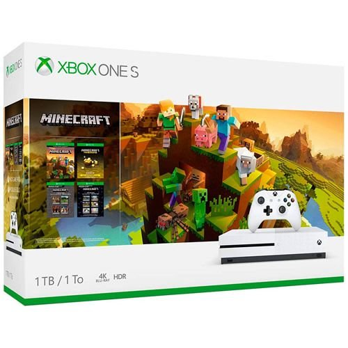Console Xbox One S 1TB Minecraft Creators Bundle - Microsoft