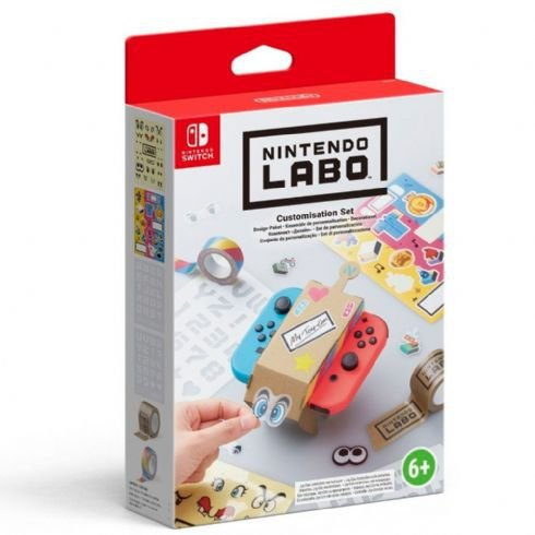 Nintendo Labo Customisation - Switch