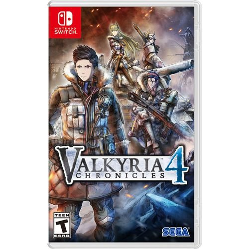 Game Valkyria Chronicles 4 - Switch