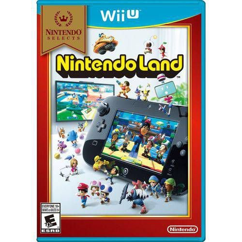 Game Nintendo Land - Wiiu