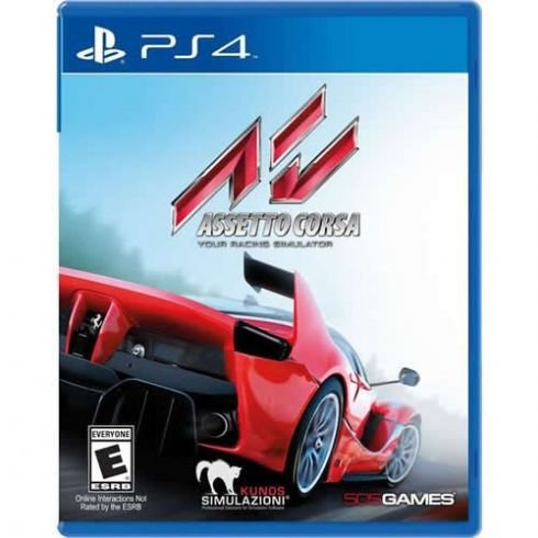 Game Assetto Corsa Your Racing Simulation - PS4