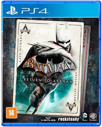 Game Batman Return to Arkham - PS4