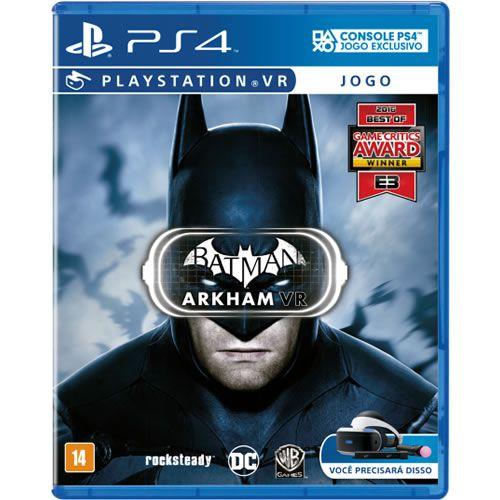 Game Batman Arkhan VR - PS4