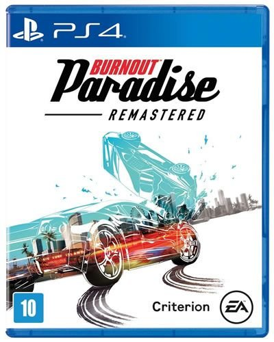 Game Burnout Paradise Remastered - PS4