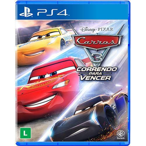 Game Carros 3 Correndo pra Vencer - PS4