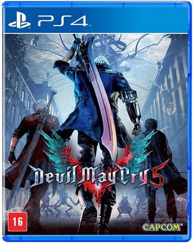 Game Devil May Cry 5 - PS4