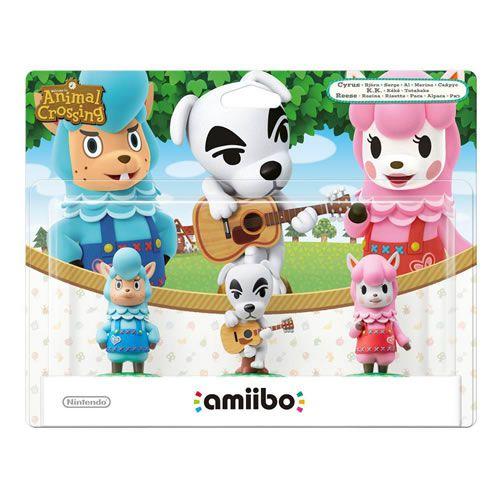 Amiibo Animal Crossing Series Bundle - Nintendo