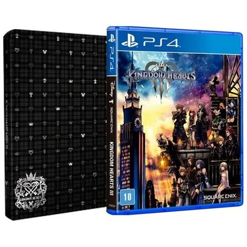 Game Kingdom Hearts 3  Steebook Edition - PS4