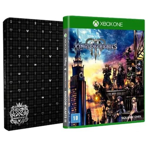 Game Kingdom Hearts 3  Steebook Edition - Xbox One