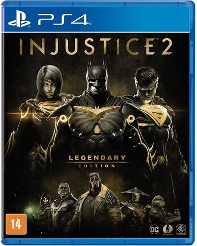 Game Injustice 2 Legendary Edition - PS4