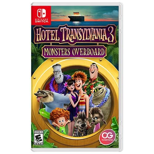 Game Hotel Transylvania 3 Monsters Overboard - Switch