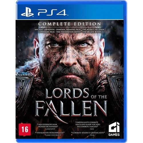 Game Lords of The Fallen Complete Edition - PS4