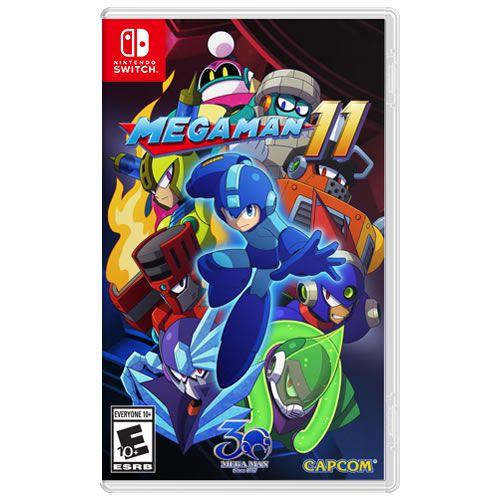 Game Mega Man 11 - Switch
