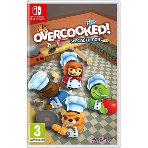Game Overcooked ! Special Edition - Switch