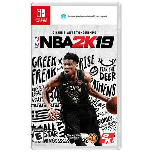 Game NBA 2K 19 - Switch